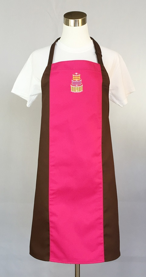 Color Block Apron Hot Pink Color Block Apron Hot Pink