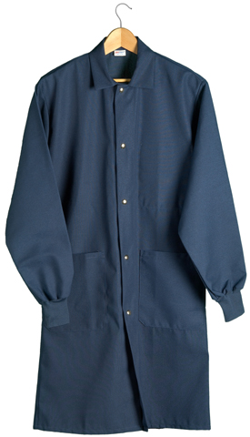 Coats With Knit Cuffs 3 Pocket Coat Large Snaps Knit
