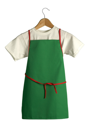 Kids Aprons Child Chef Hats Kiddie Apron Green Red