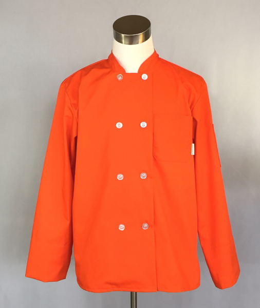 Men's Traditional Chef Jacket (Orange)