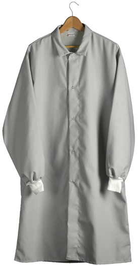 Lab Coat (Cuffed Sleeves)