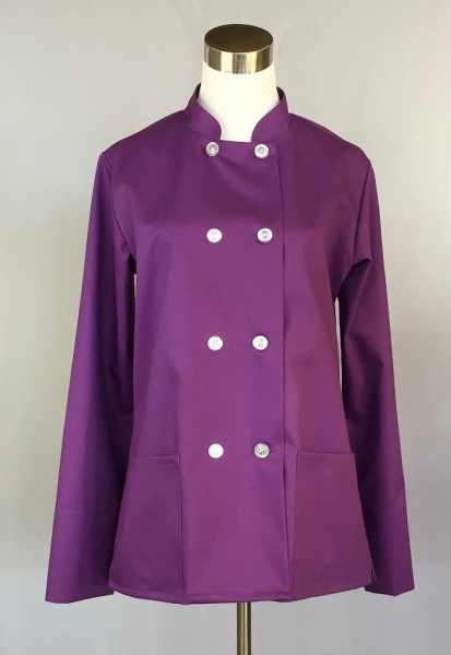 Women's Traditional Chef Jacket (Meadow Violet)
